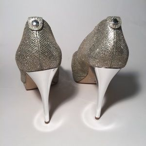 Michael Kors Glitter Metallic pumps